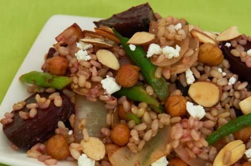 Roasted Beet & Brown Rice Salad