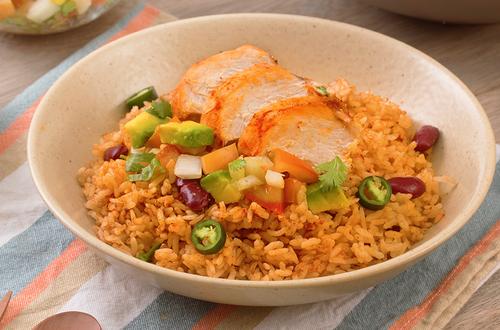 Nasi Ayam Ala Mexico