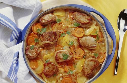 Knorr - Schweinefilet Auflauf mit Kartoffeln