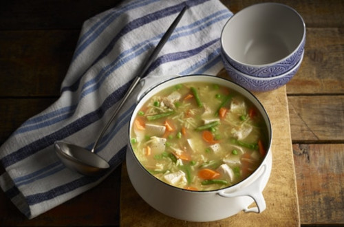Hearty Turkey Soup