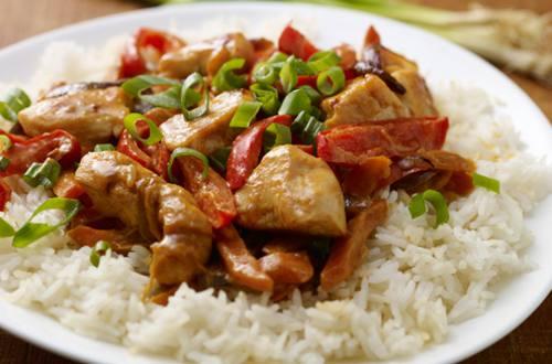 Curry tailandés rojo fácil