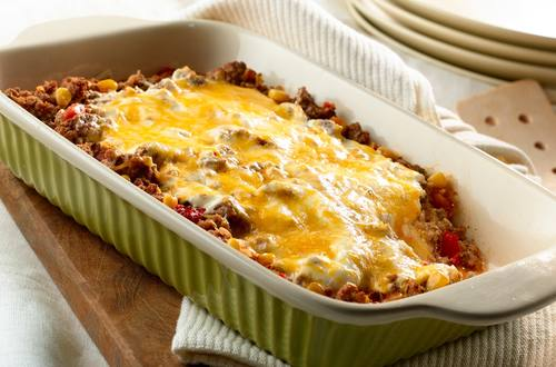 Enchilada al horno simple