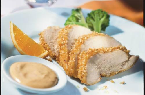 Knorr - Hähnchenbrust mit Sesamkruste