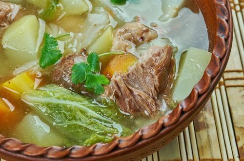 Canh cải thảo thịt bò