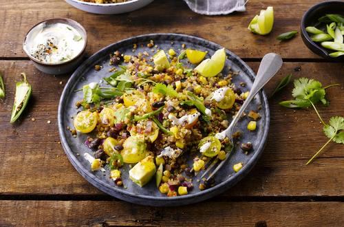 Salade fraicheur de lentilles et quinoa