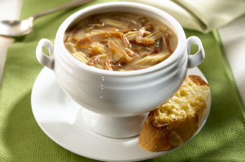 French Onion Noodle Soup