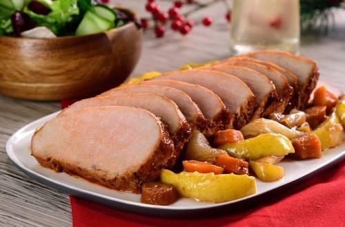 Lomo de Cerdo a la Mostaza