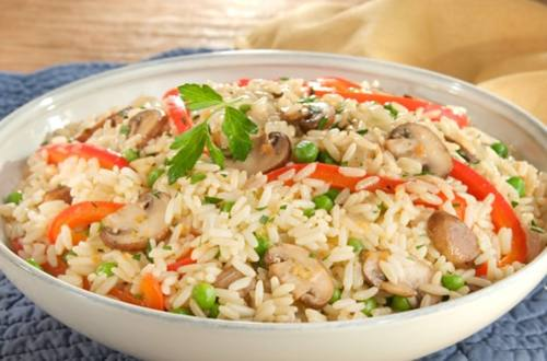 Easy Chicken & Vegetable Rice