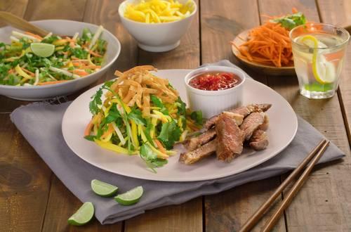 Daging Salad Mangga Bengkuang