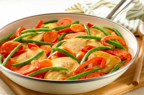 Lemon Chicken & Vegetables