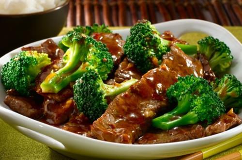 Ginger Beef & Broccoli