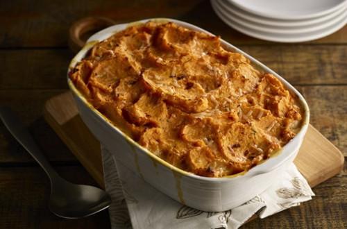 Turkey Sweet Potato Shepherd's Pie