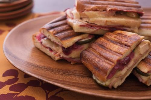 Chicken Cheddar & Cranberry Panini