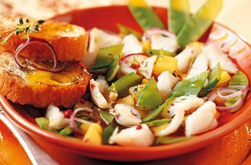 Soupe aux pommes de terre et cabillaud