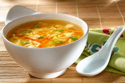 Soupe Chinoise à l'œuf