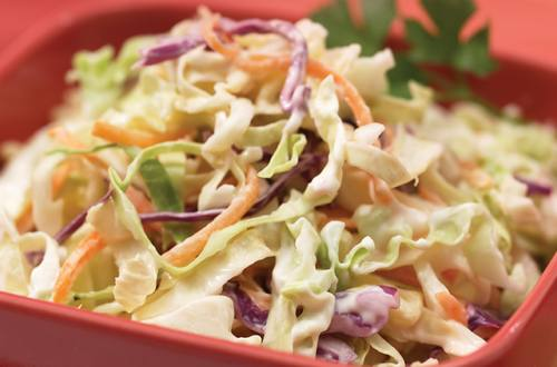 Quick & Simple Coleslaw Recipe