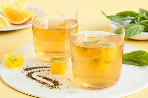 Lipton Orange and Basil Fancy Iced Tea Recipe