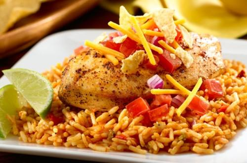 Chili Lime Chicken & Rice
