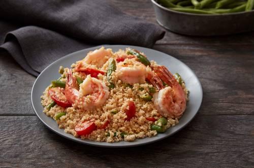 Shrimp Scampi Whole Wheat Couscous