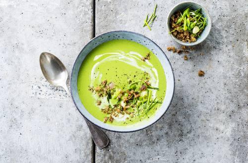 Knorr - Kalte Spinat-Schnittlauch-Suppe