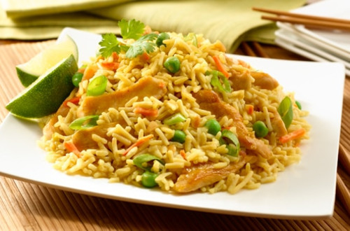 Peanut Chicken Fried Rice