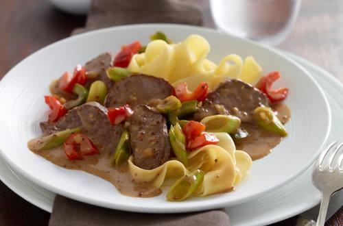 Knorr - Feine Rindsfiletwürfel à la maison mit Paprika