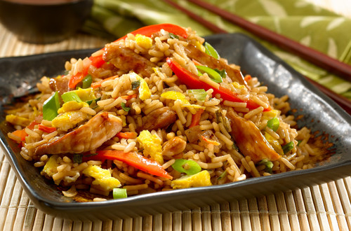 Teriyaki Pork Fried Rice Dinner