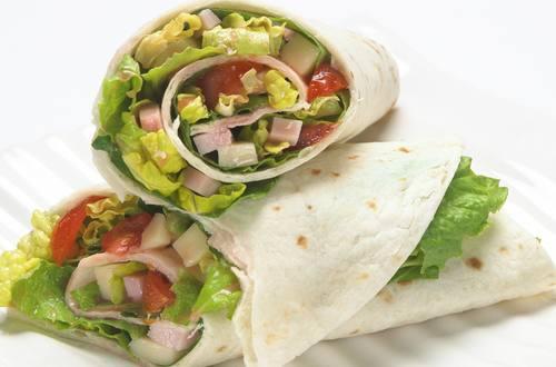 Antipasto Salad Wraps