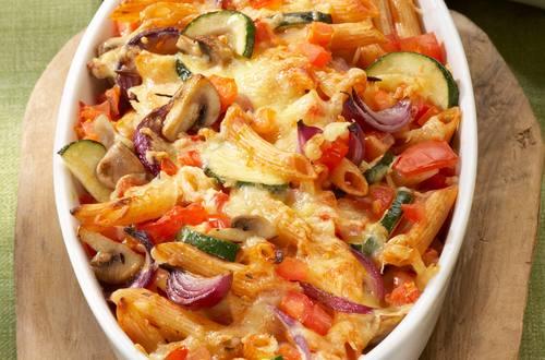 Knorr - Nudelauflauf mit Gemüse