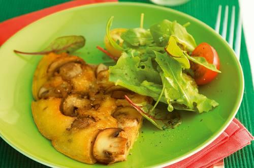 Champignon-Omelette