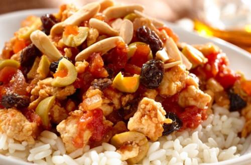Chicken Picadillo