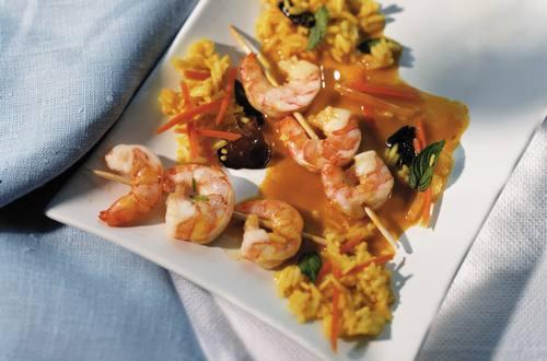 Knorr - Garnelen-Curry