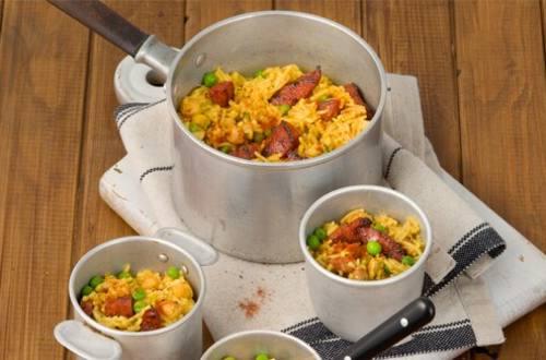 Spanish Chorizo & Bean Rice