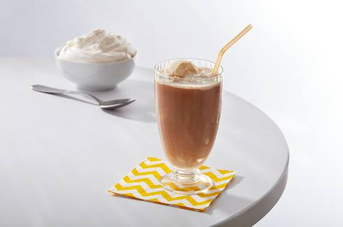Cold Brew Tea-Time Ice Cream Float