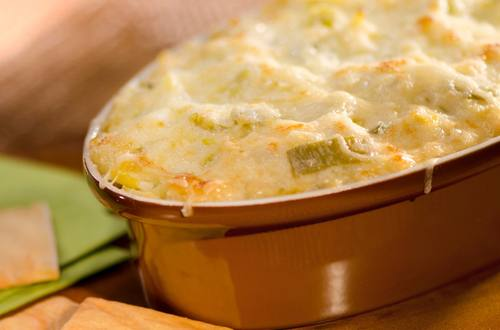 Hot Mexican Artichoke Dip