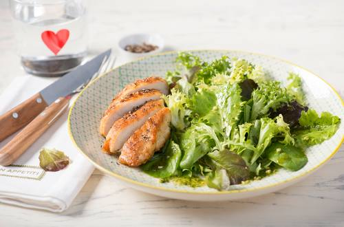 Knorr - Blattsalat mit Hühnerbrust