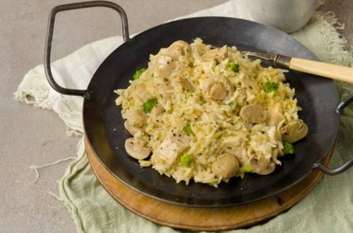 Chicken & Mushroom Rice