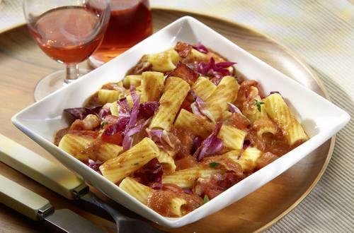 Knorr - Tortiglioni mit Radicchio und Speck