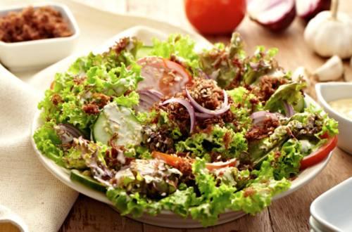 Corned Beef Sisig Salad Recipe