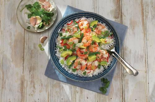 Zesty Prawn Salad