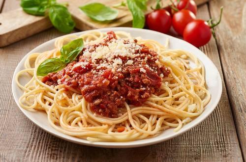 Summer Spaghetti Bolognese
