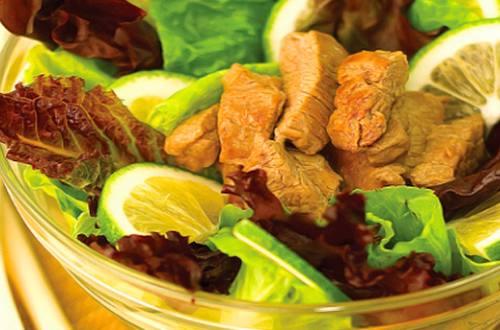 Savory Beef Salad Recipe