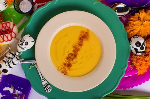 Crema de Zanahoria y Queso