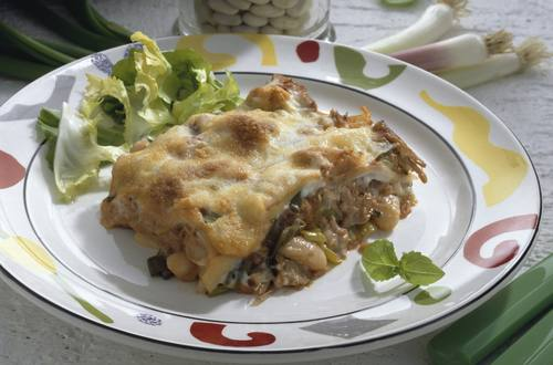 Knorr - Thunfisch-Lasagne mit Oliven und Broccoli