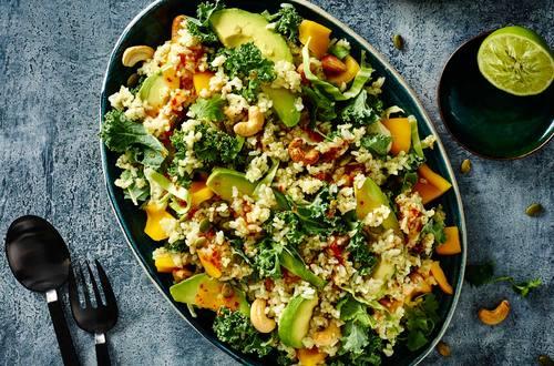 Coconut Rice & Quinoa Salad