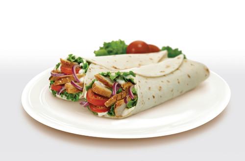 Grilled Chicken Club Wrap