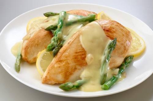 Savory Chicken & Asparagus Hollandaise