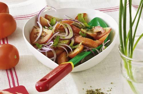 Knorr - Tomaten-Zwiebel-Salat mit Koriander