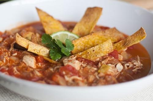 Soupe aux Tortillas