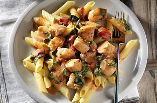 Parma-Rosa Chicken Penne Skillet